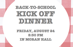 Back To School Kick Off Dinner