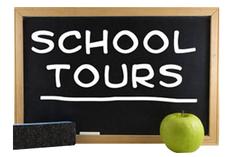 Admission presentations and school tours
